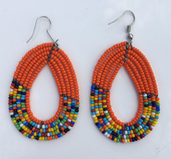 Maasai Teardrop Earrings