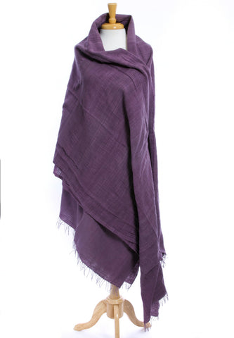 Purple Ethiopian Gabi | Body Shawl