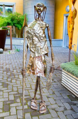 Recycled Metal Nomad Sculpture