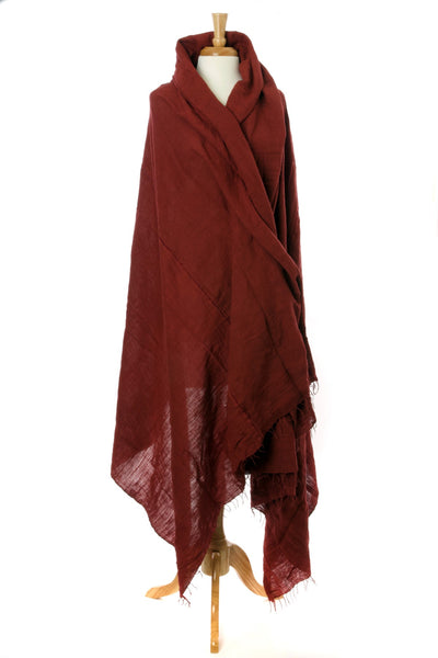 Red Ethiopian Gabi | Body Shawl