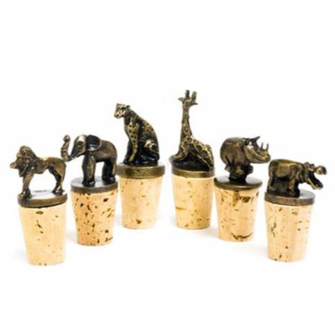 Safari Animal Bottle Stopper
