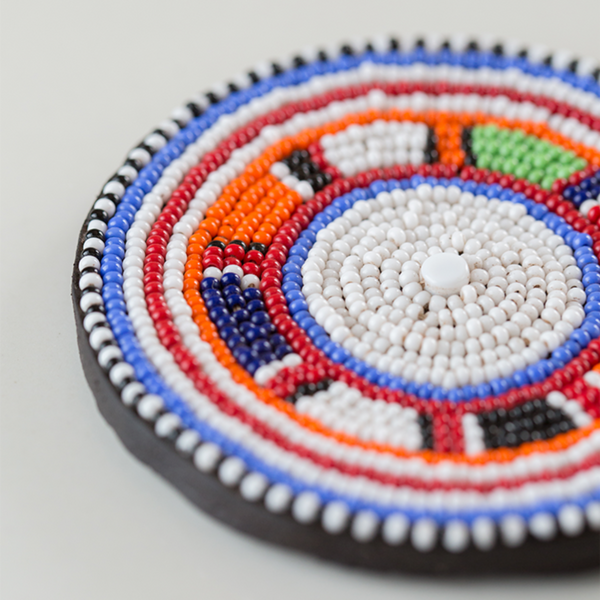 Maasai Beaded Coasters - Ikumba Design Studios - 3