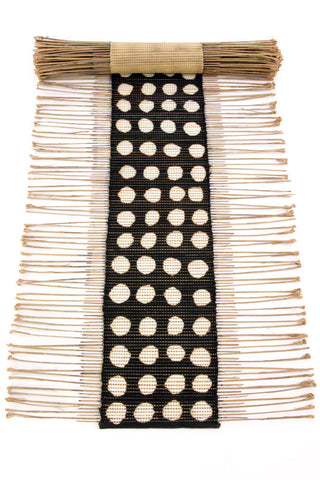 Dotted Twig & Mud Cloth Table Runner