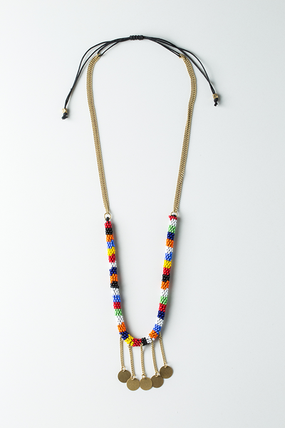 Maasai Kamba Rope Necklace - Ikumba Design Studios - 1