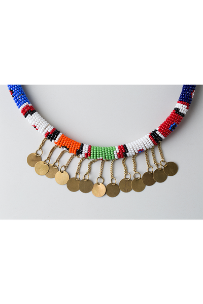 Maasai Spirit Necklace - Ikumba Design Studios - 2
