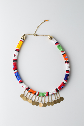 Maasai Spirit Necklace - Ikumba Design Studios - 1