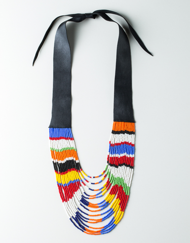Maasai Maji Necklace - Ikumba Design Studios - 1