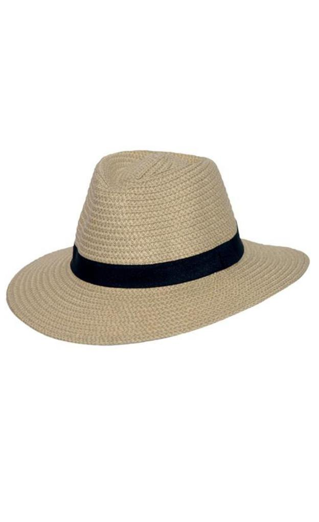 Braided Fedora - Natural