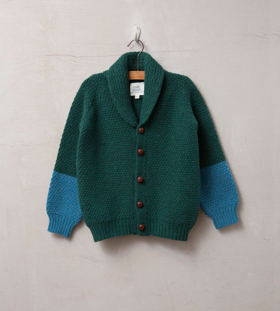 Bramble Cardigan, Forest - Little Knittle