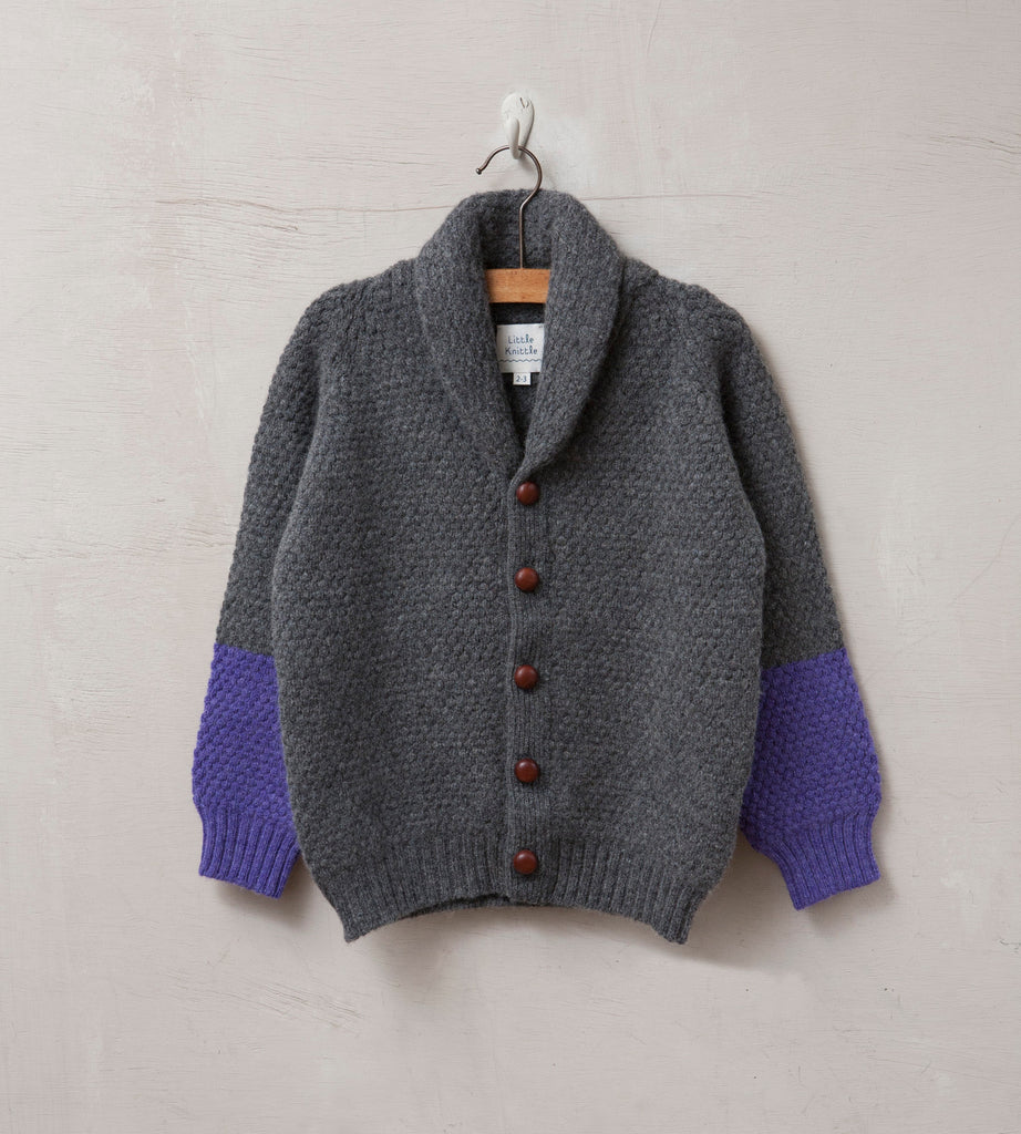 Bramble Cardigan, Cliff - Little Knittle