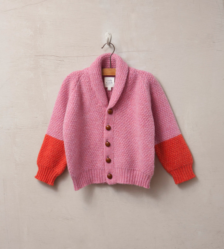 Bramble Cardigan, Rose - Little Knittle