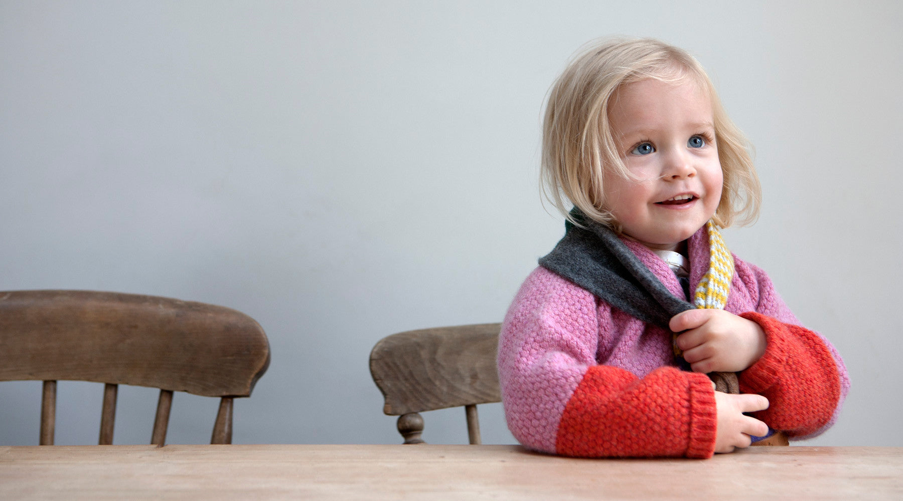 luxury childrens knitwear