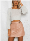 At Dawn Cropped Sweater