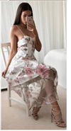 Kismet Floral Sheer Dress