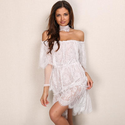 Miami Beach Lace Dress