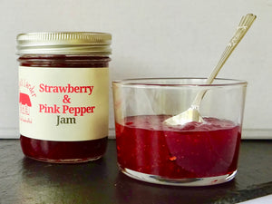 Strawberry & Pink Pepper Jam