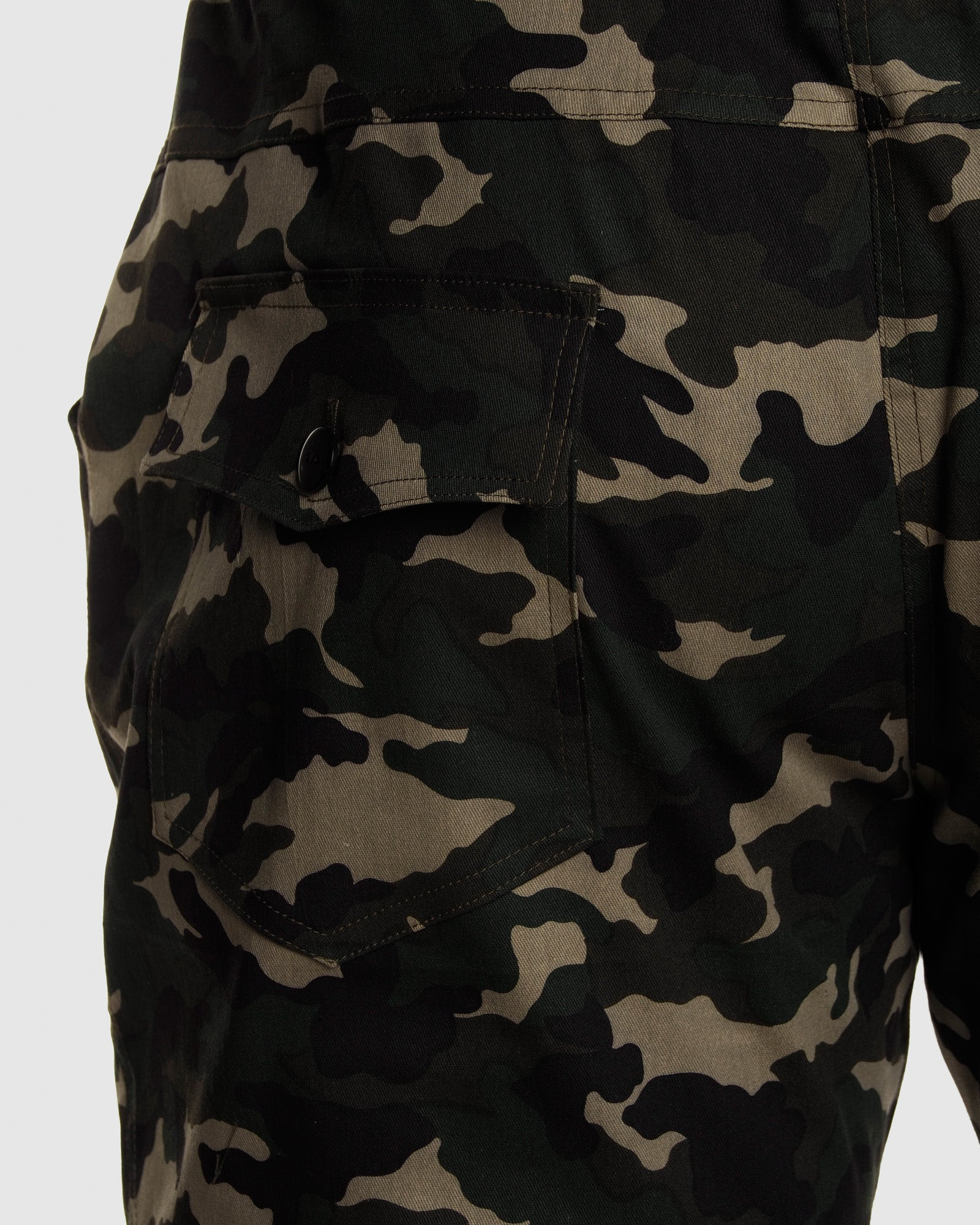 Camo Joggers- Army Green