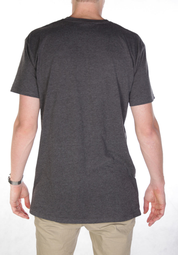 Towns Tee - Charcoal/ Doubs label