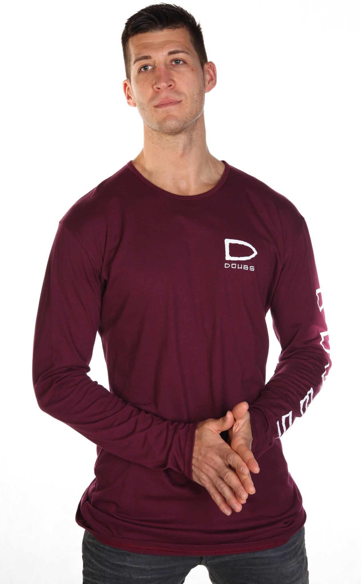 Bailez Long Sleeve - Maroon