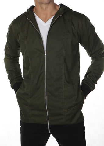 Krome Bomber Jacket - Green