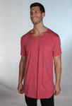 Raw Tee - Faded Red