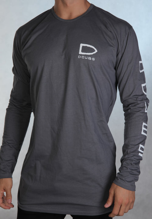 Bailez Long Sleeve - Charcoal