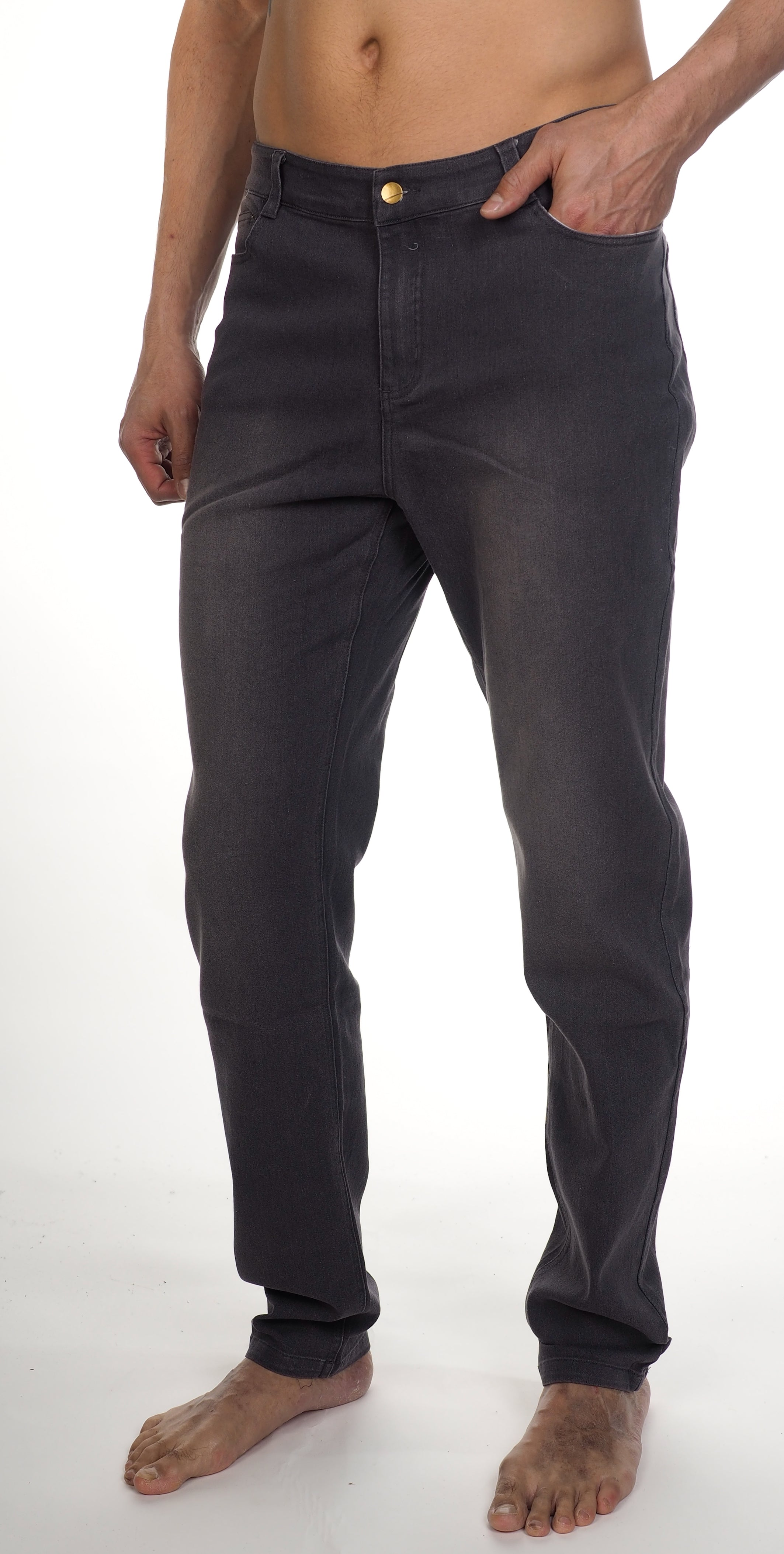 JJ Stretch Jeans - Charcoal