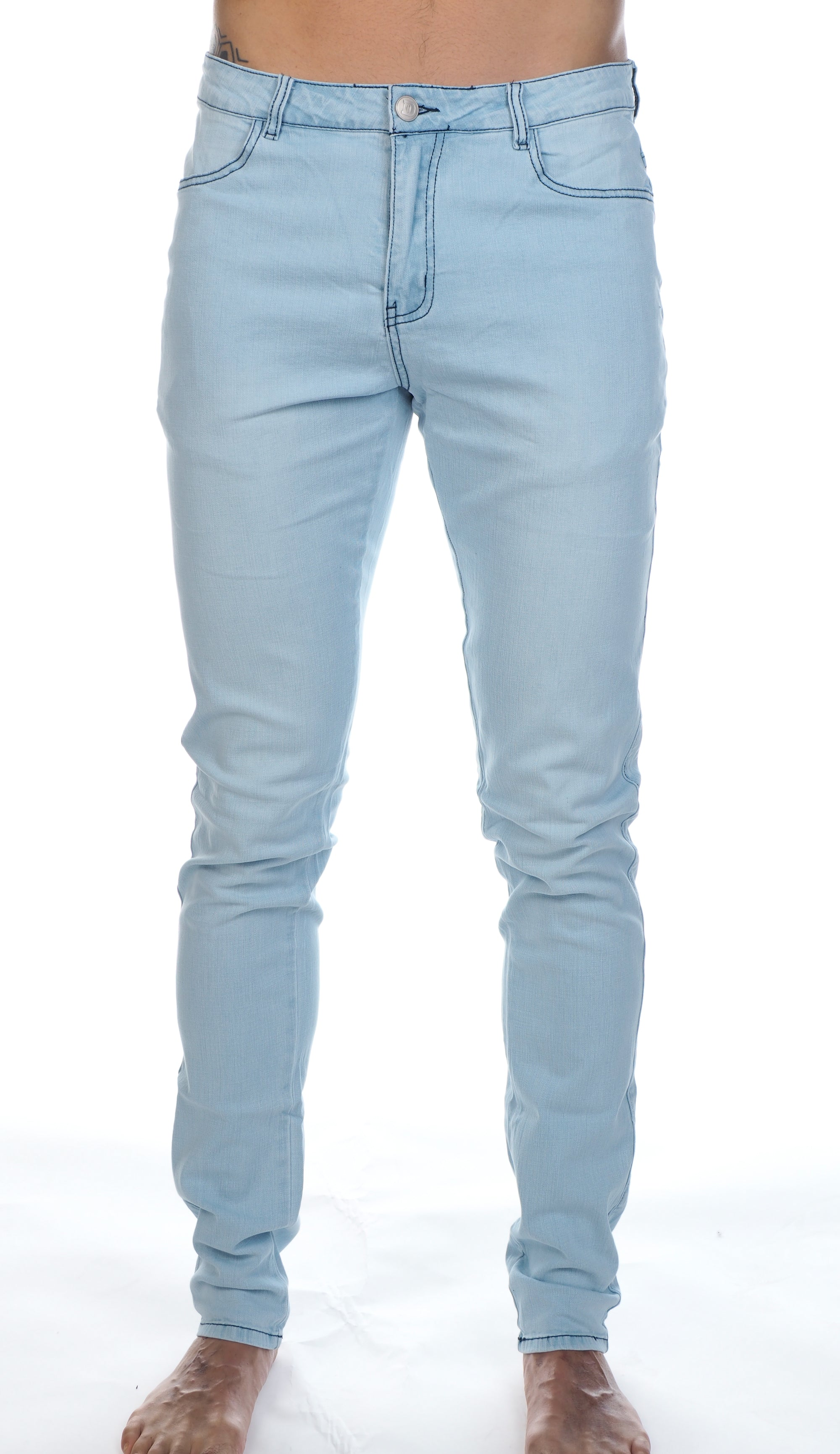 JJ Stretch Jeans - Ice Blue
