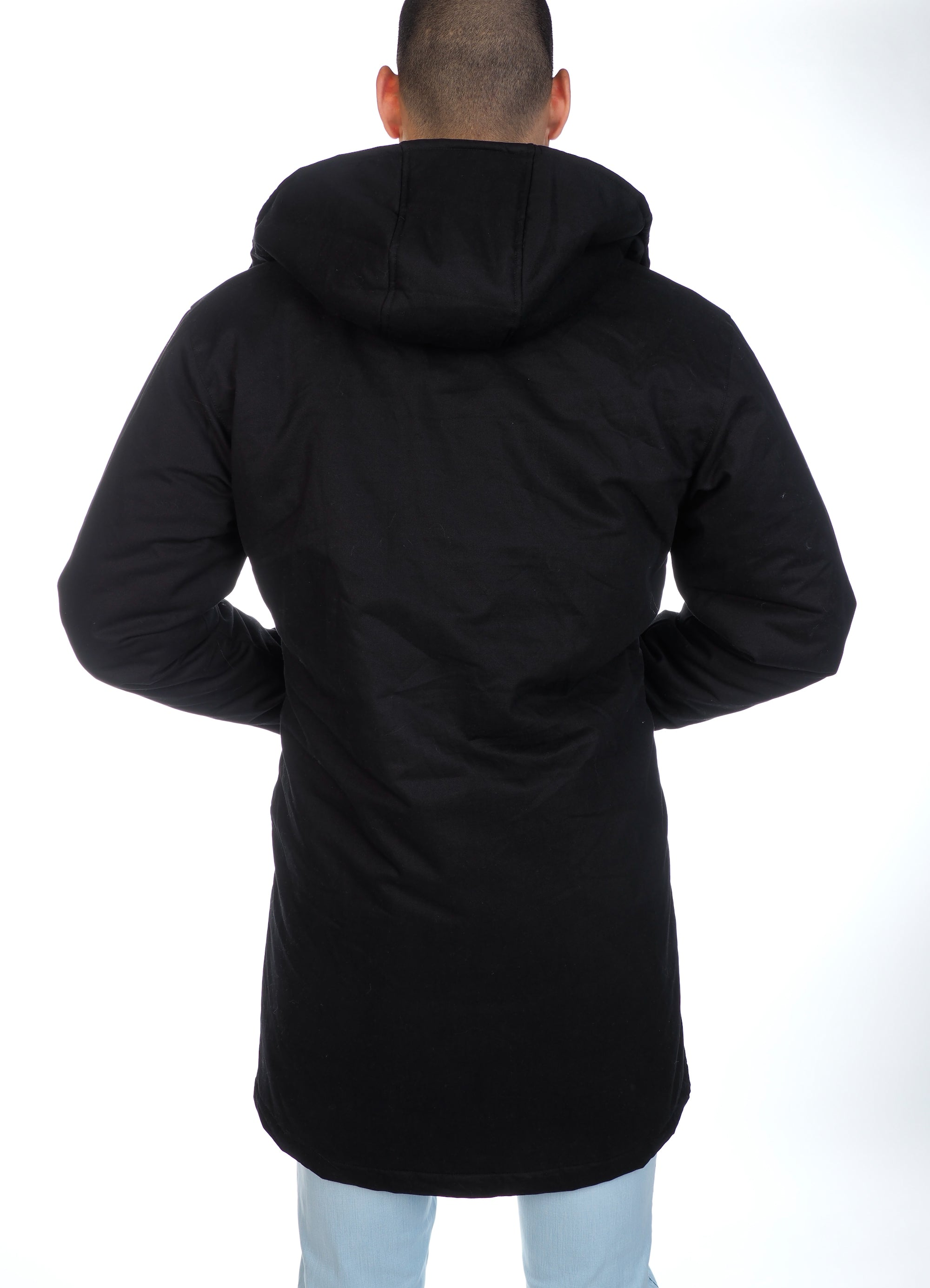 The Wright Parka - Black (choice of fur or no fur)
