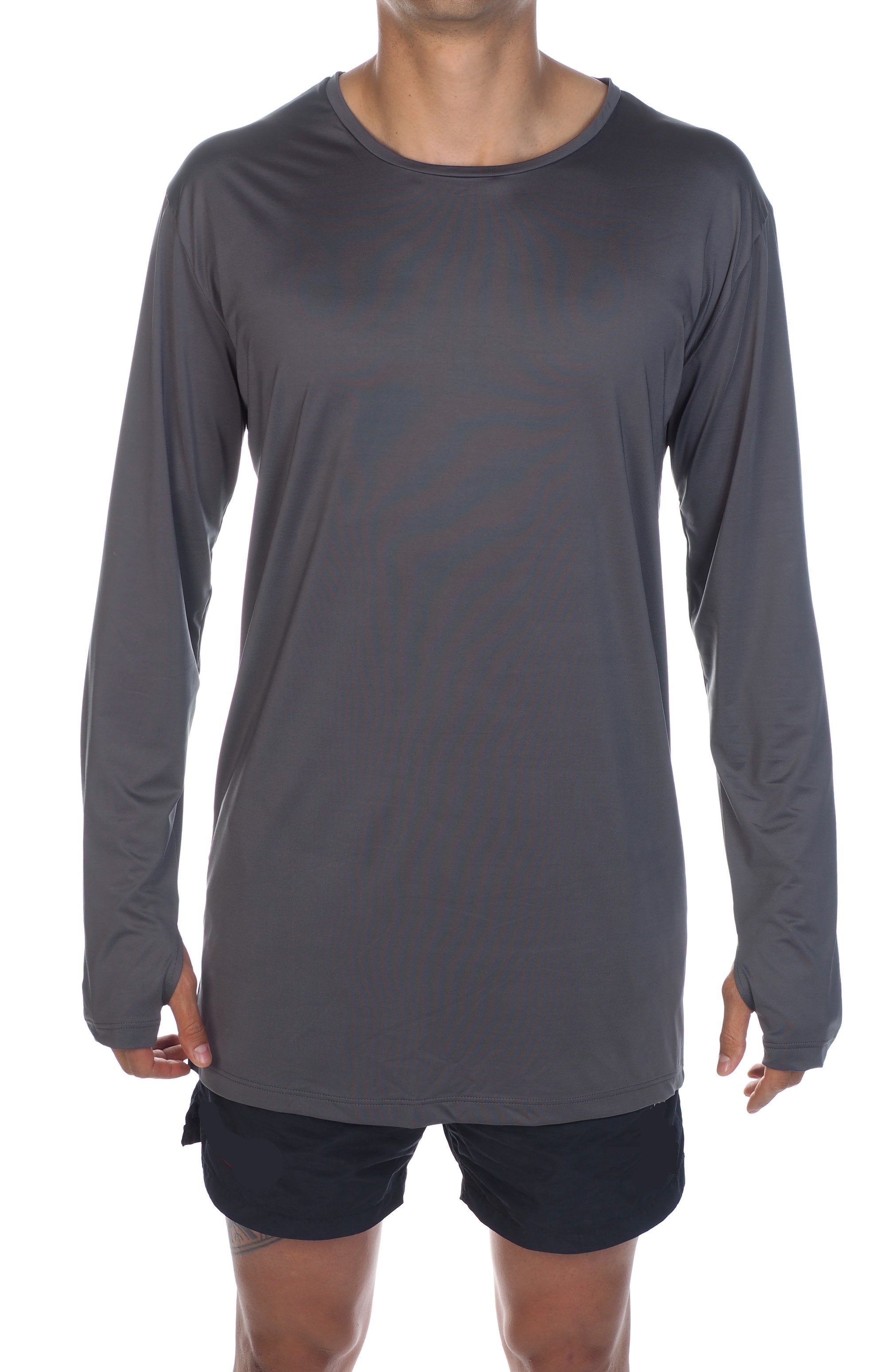 Active Wear Top - Charcoal Sports