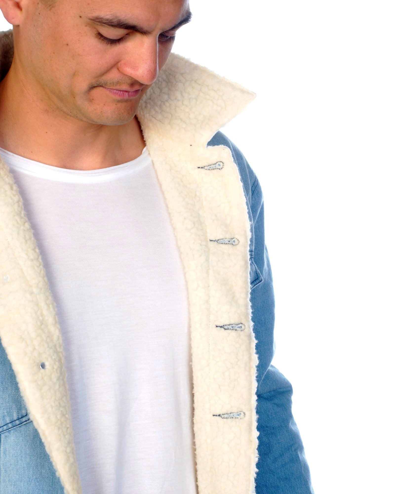 Tommy Jacket - Denim Wool