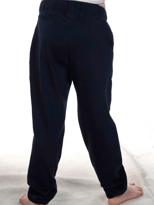 Reidy Cotton Pants- Navy