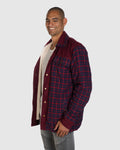 Schensch Flannel Jacket - Wool Lining - Red Check