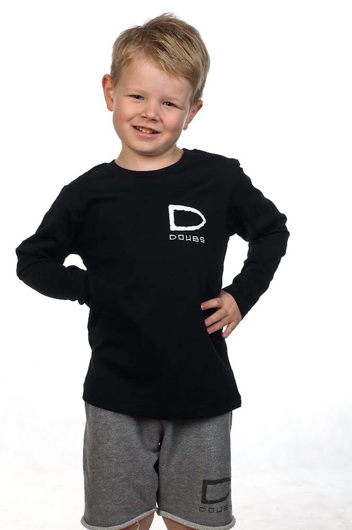 Kids Long Sleeve Tee - Black