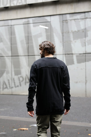 Rollback Crew Neck - Black