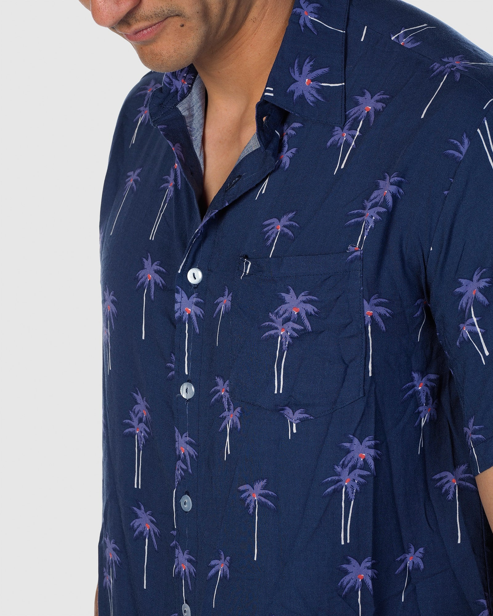 Palm Button Down Shirt