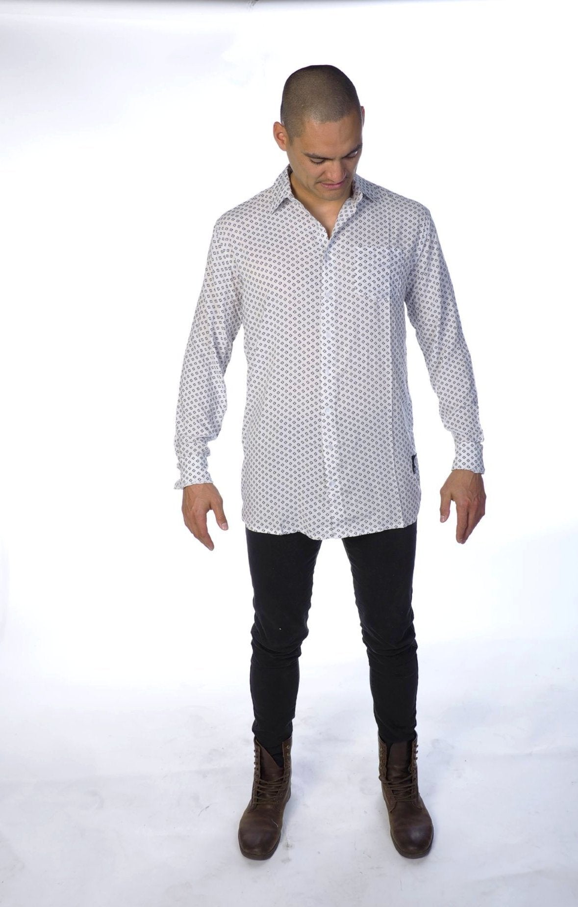 Ray Button Down Shirt