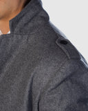 Beau Wool Coat - Charcoal