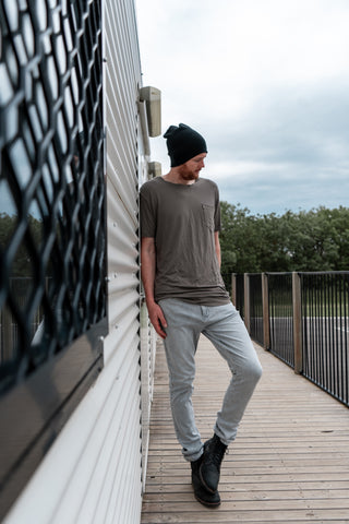 Drifter Jeans - White Grey