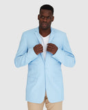 Zimmer Suit Jacket - Sky Blue Blazer