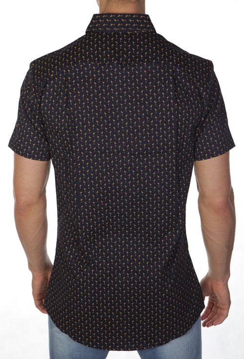 Flamingo Short Sleeve Shirt