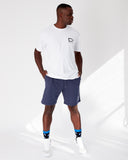 Sweat Track Shorts - Storm Blue