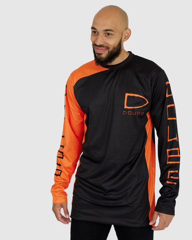 Doubs Bike Jersey - Orange