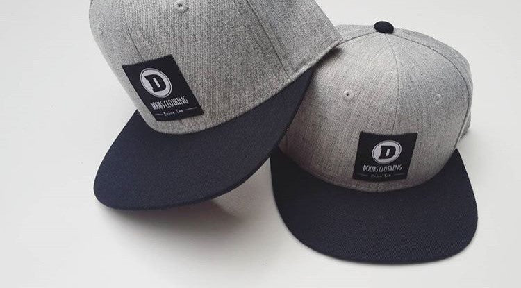 Doubs clothing Hat - grey