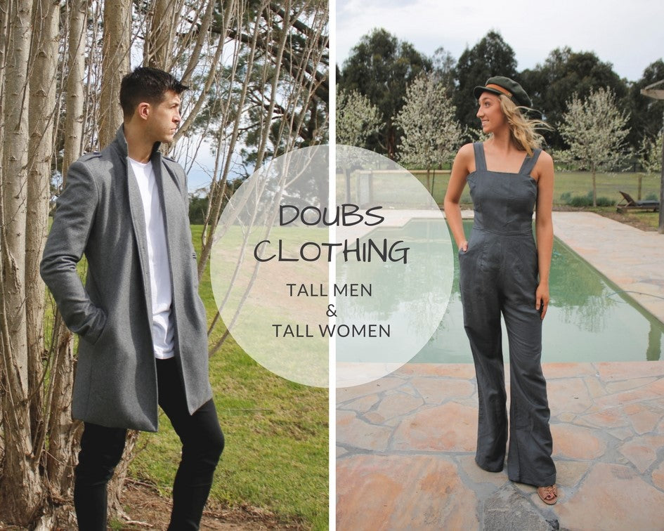tall clothing men tall women long