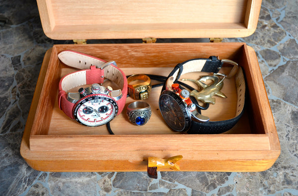 Hand-Crafted Box by Don Yoyi