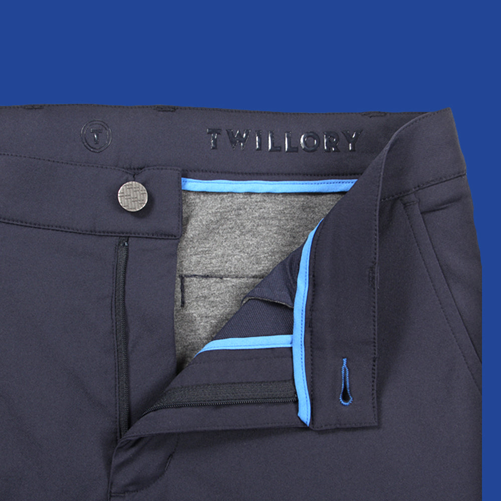 Navy Extra Trim // Performance Pants