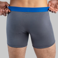 Performance Boxer Briefs // Grey
