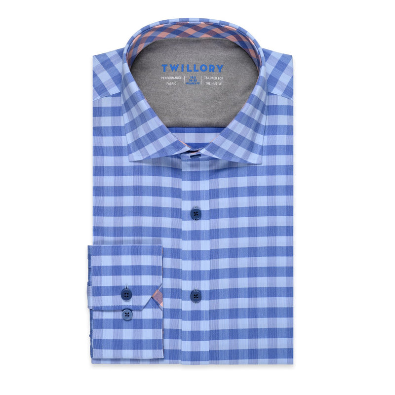 JOKER // Performance Blue Gingham
