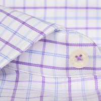 Non-Iron Purple / Blue Windowpane